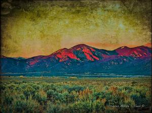 SOLD  Sunset Giclee